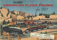 1957 American Flyer Catalogs Unused