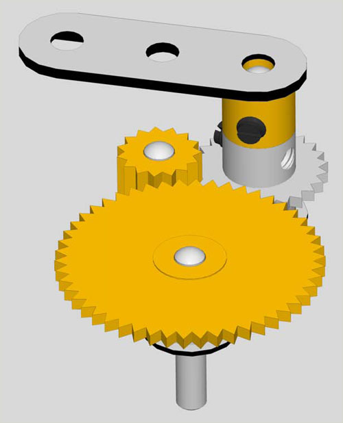 rotary to linear motion mechanism pdf